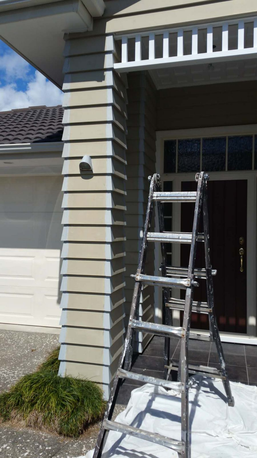 takapuna weather board house exterior painting house painters north shore. Black Bedroom Furniture Sets. Home Design Ideas