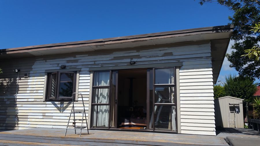 Browns bay weather board house exterior painting house painters north shore - Temperature for exterior painting ...