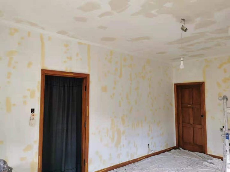 Wall Paper Removal and Ceiling Stripping